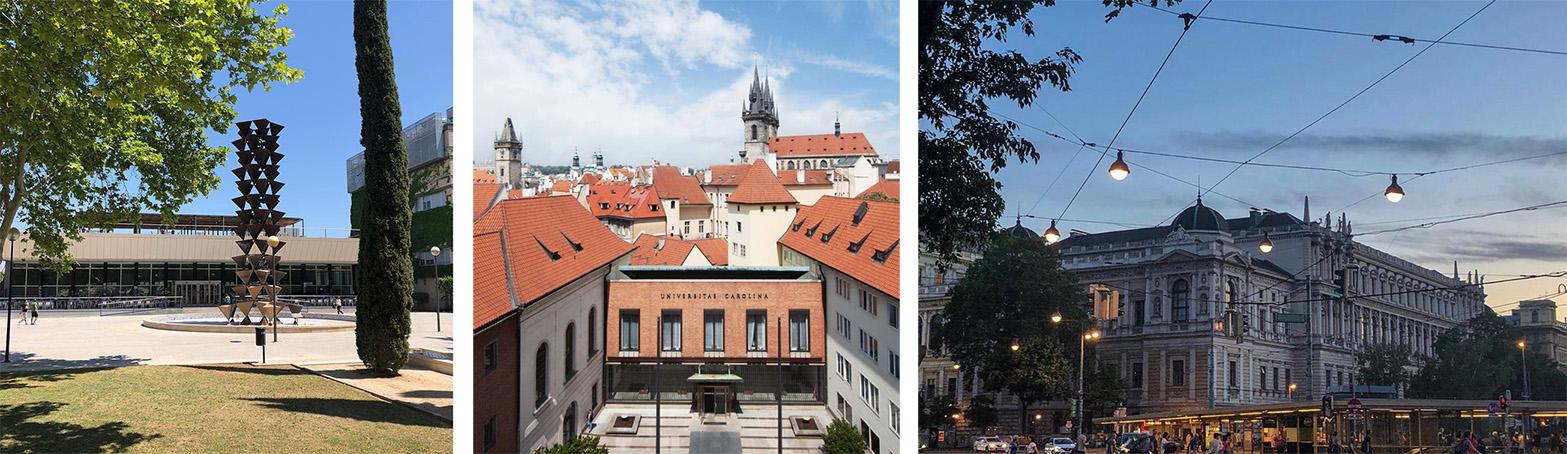 Universitäten Valencia, Prag und Wien