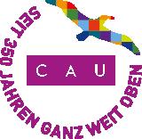 Jubiläumslogo 350 Jahre Christian-Albrechts-Universität zu Kiel